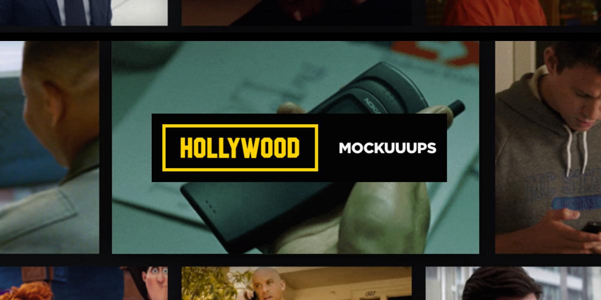 Hollywood Mockuuups