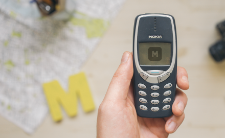 Nokia 3310 - Hi-Res Customizable .PSD File
