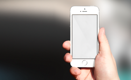 Hi-Res iPhone SE mockup