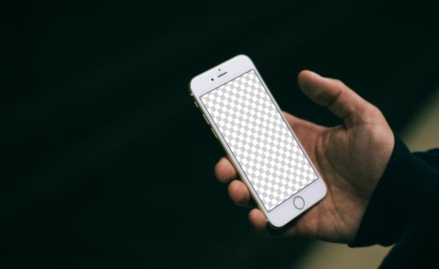Urban iPhone 6s mockup