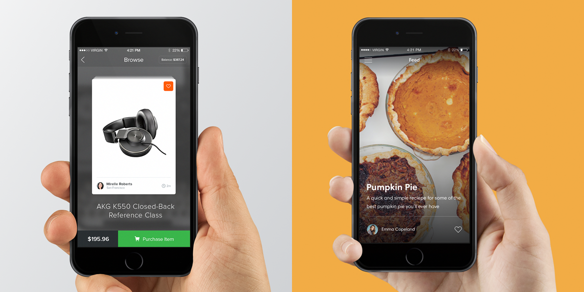 Weekly Dribbble Inspiration #5