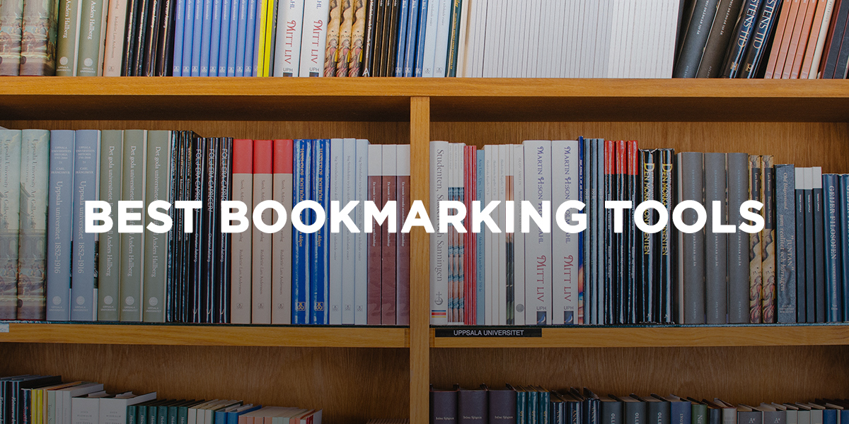 Best Bookmarking Tools