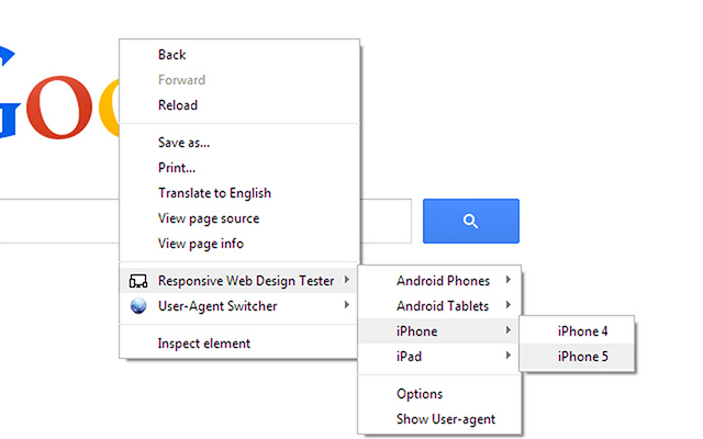 Responsive Web Design Tester