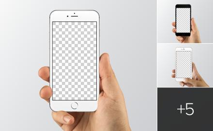 Sketch & Photoshop iPhone mockups