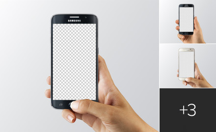 android mockups on transparent background - Mockups For Android
