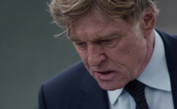 Captain America: Winter Soldier - Robert Redford aka Alexander holding HTC One